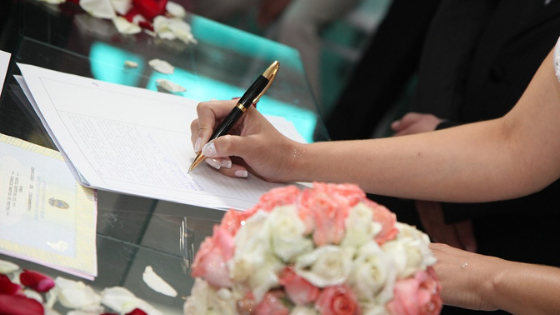 ¿Qué necesito para organizar mi boda civil?