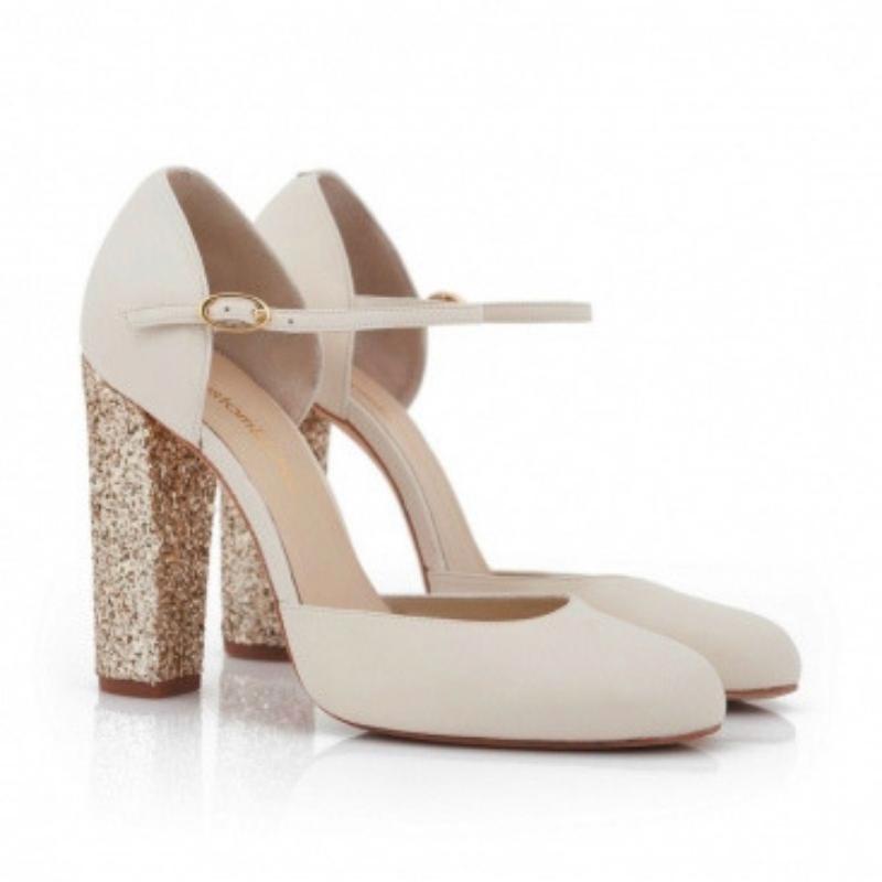 zapatos de novia glitter
