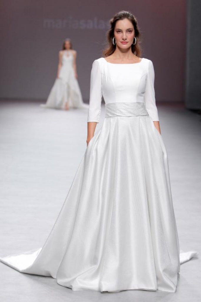 Vestido de boda civil 2020