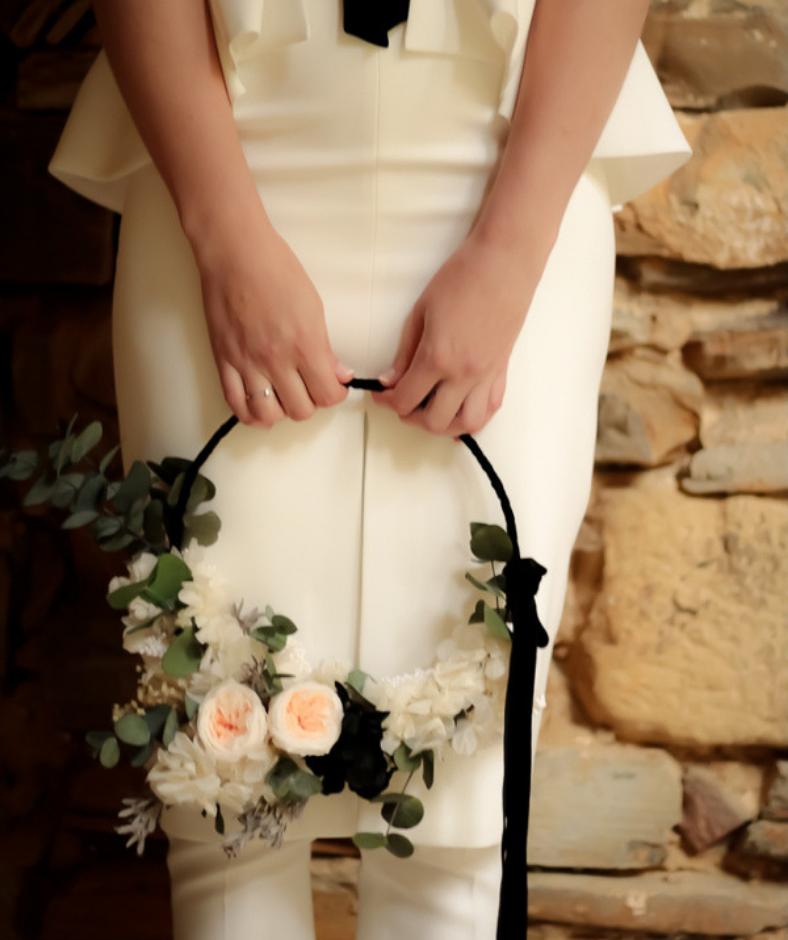 ramo de novia arco