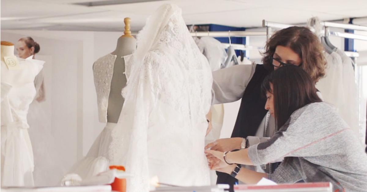 Merche Segarra lleva 16 años al mando de los diseños de novia de Jesús Peiró