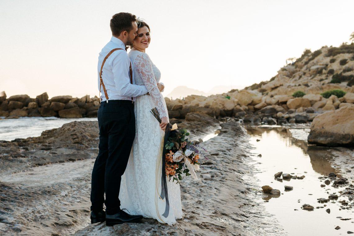 Editorial de boda en el Mediterráneo
