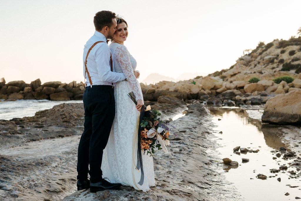 boda en el Mediterráneo