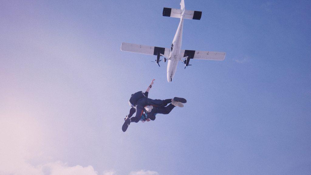 salto paracaídas